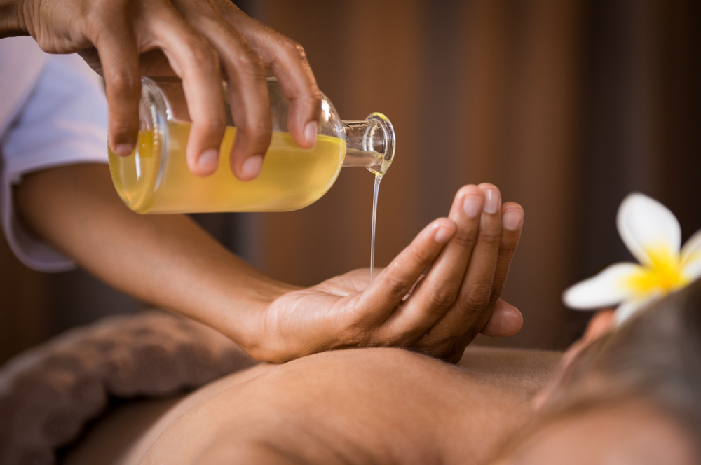 natuurlijke massage olie